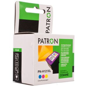 Картридж HP CC644HE №121XL, PATRON, color (MAX) совместимый