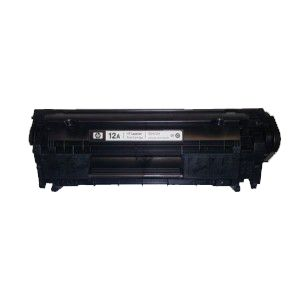 Картридж HP LJ 1010 Q2612A №12A, black recycle PRO