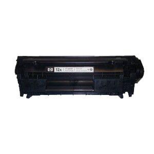 Картридж HP Q2612A black Б/У