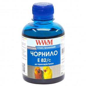 Чернила Epson T081, WWM, 200 г., cyan, (E82/C)