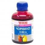 Чернила Epson T081, WWM, 200 г., magenta, (E82/M)
